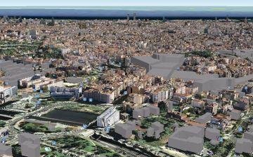 Uitzicht op Barcelona - maar waarvandaan precies??