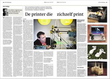 3D-printers: een fabriekje voor ieder huishouden